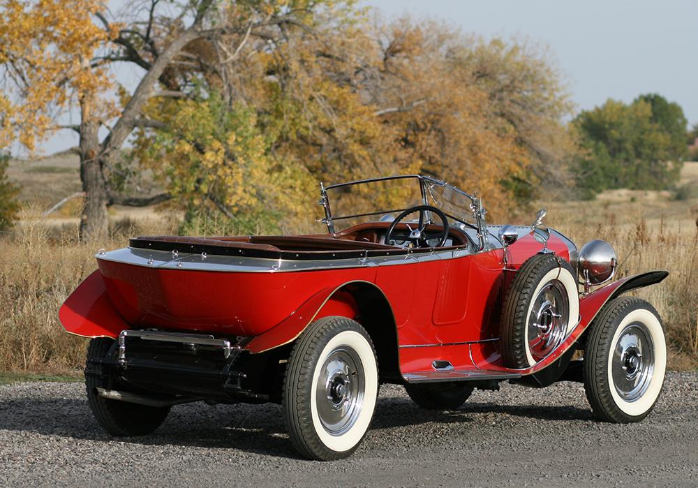 1925 Isotta  Fraschini Tipo 8 Boattail