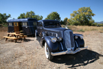 1936 Pierce Arrow with 1937 Pierce Arrow Travelodge