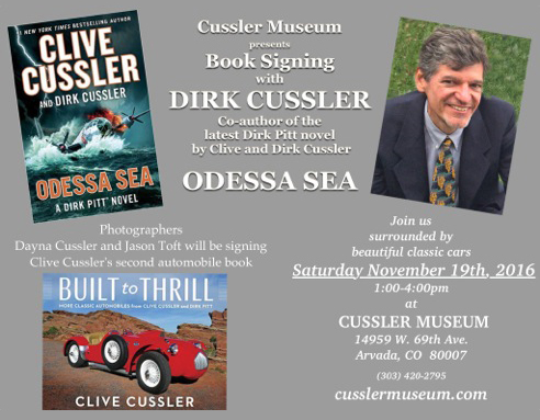 Meet Dirk Cussler