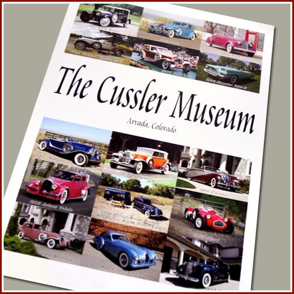 The New Cussler Museum Poster - 24x36